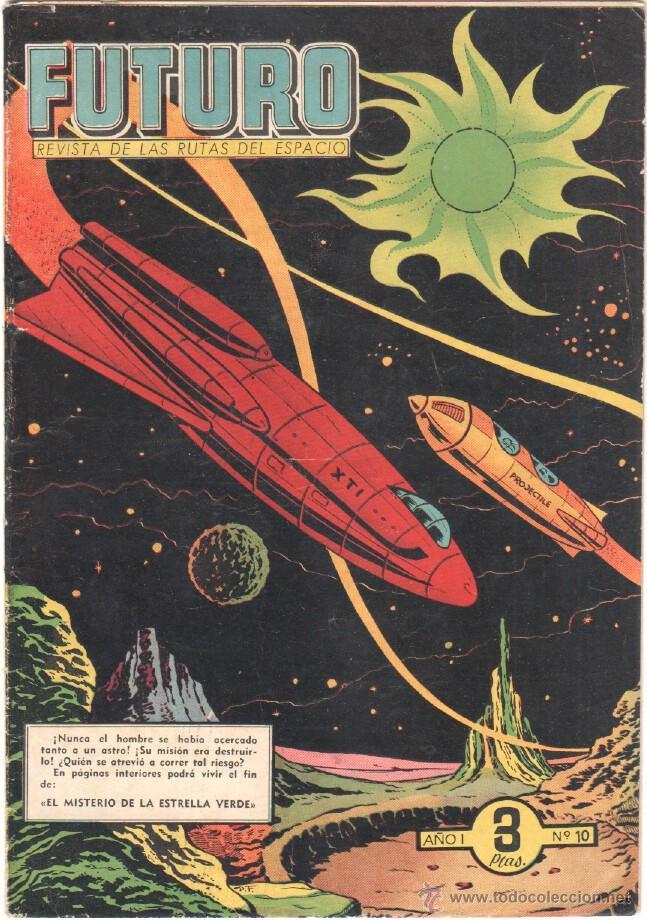 Tebeos: FUTURO ORIGINAL, COMPLETA Y SUELTA , 1 AL 20 EDICIONES CLIPER 1957, RARÍSIMO ENCONTRARLA COMPLETA - Foto 12 - 50746912