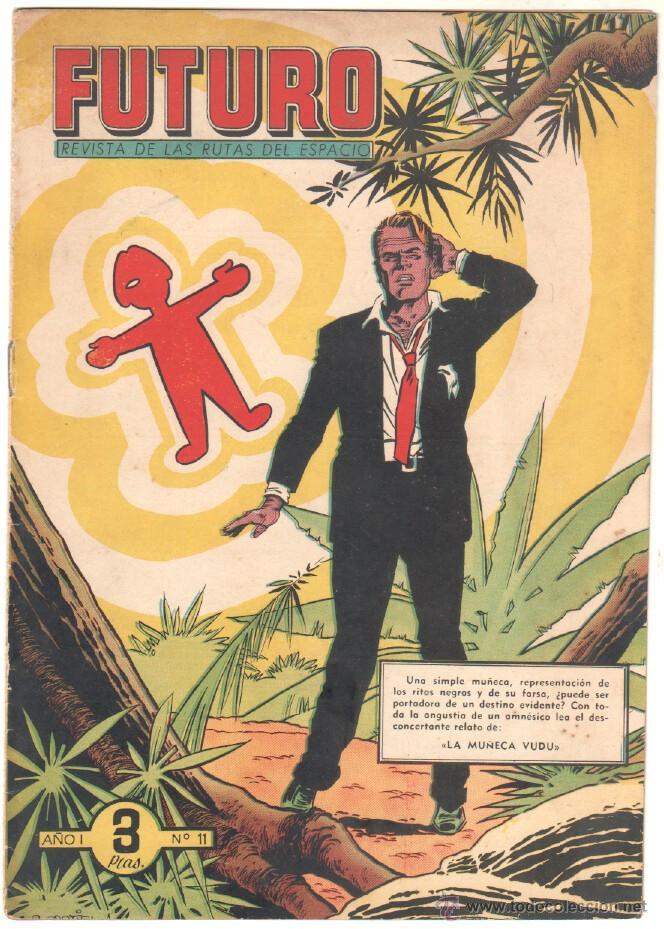 Tebeos: FUTURO ORIGINAL, COMPLETA Y SUELTA , 1 AL 20 EDICIONES CLIPER 1957, RARÍSIMO ENCONTRARLA COMPLETA - Foto 13 - 50746912