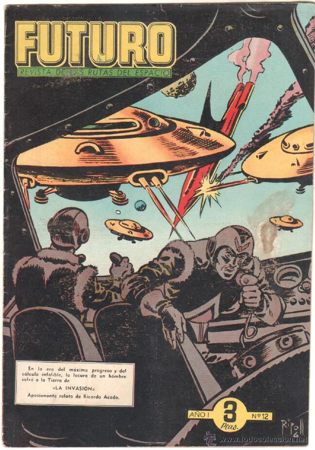 Tebeos: FUTURO ORIGINAL, COMPLETA Y SUELTA , 1 AL 20 EDICIONES CLIPER 1957, RARÍSIMO ENCONTRARLA COMPLETA - Foto 14 - 50746912