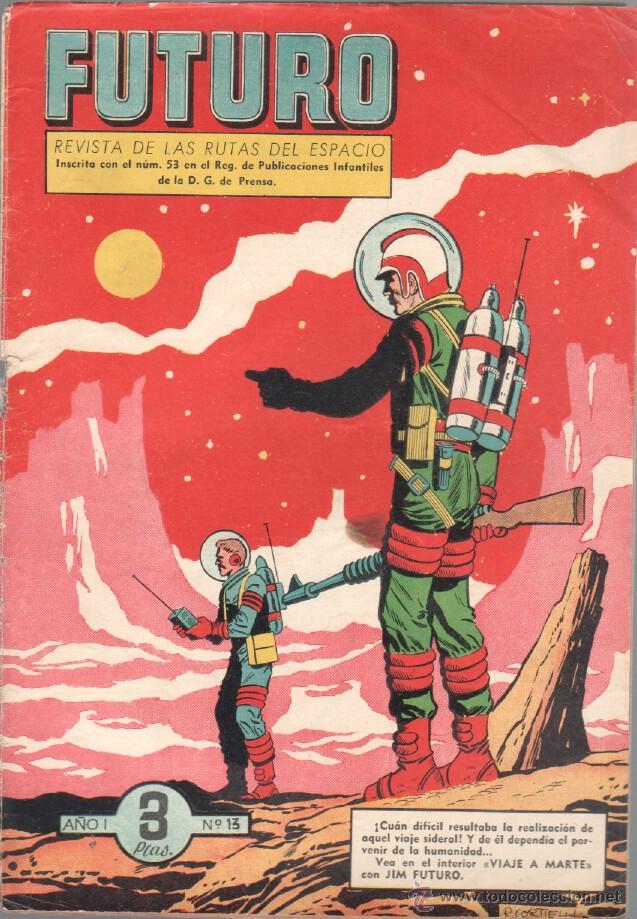 Tebeos: FUTURO ORIGINAL, COMPLETA Y SUELTA , 1 AL 20 EDICIONES CLIPER 1957, RARÍSIMO ENCONTRARLA COMPLETA - Foto 15 - 50746912