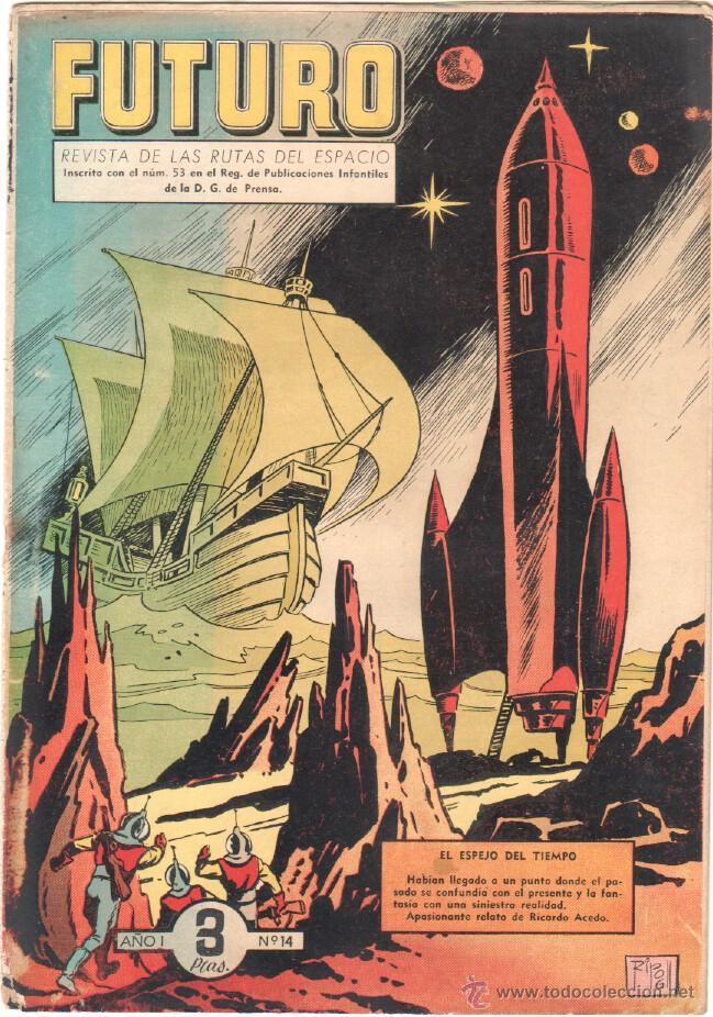 Tebeos: FUTURO ORIGINAL, COMPLETA Y SUELTA , 1 AL 20 EDICIONES CLIPER 1957, RARÍSIMO ENCONTRARLA COMPLETA - Foto 16 - 50746912
