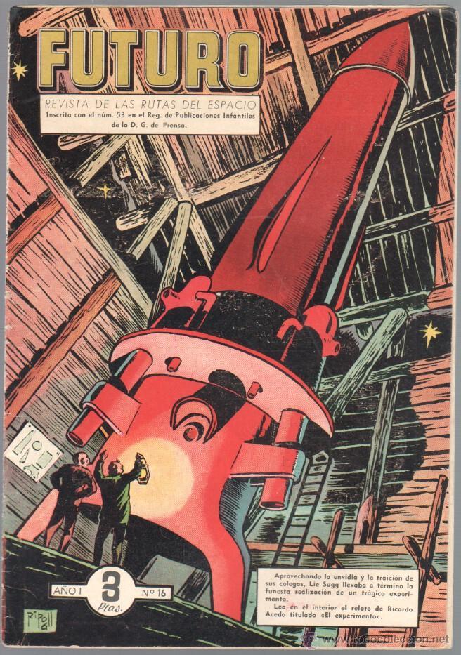 Tebeos: FUTURO ORIGINAL, COMPLETA Y SUELTA , 1 AL 20 EDICIONES CLIPER 1957, RARÍSIMO ENCONTRARLA COMPLETA - Foto 18 - 50746912