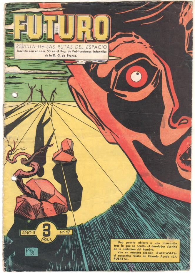 Tebeos: FUTURO ORIGINAL, COMPLETA Y SUELTA , 1 AL 20 EDICIONES CLIPER 1957, RARÍSIMO ENCONTRARLA COMPLETA - Foto 19 - 50746912