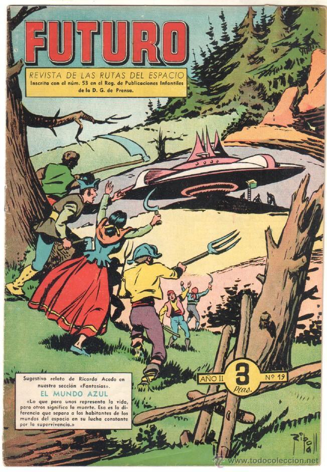 Tebeos: FUTURO ORIGINAL, COMPLETA Y SUELTA , 1 AL 20 EDICIONES CLIPER 1957, RARÍSIMO ENCONTRARLA COMPLETA - Foto 21 - 50746912