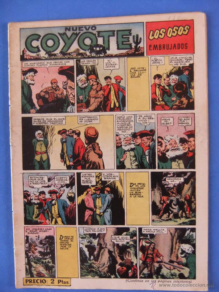 NUEVO COYOTE Nº 133 EDITORIAL CLIPER (Tebeos y Comics - Cliper - El Coyote)