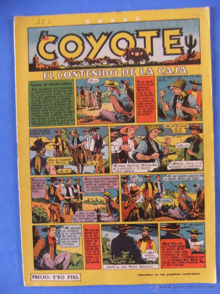COYOTE Nº 26 EDITORIAL CLIPER (Tebeos y Comics - Cliper - El Coyote)