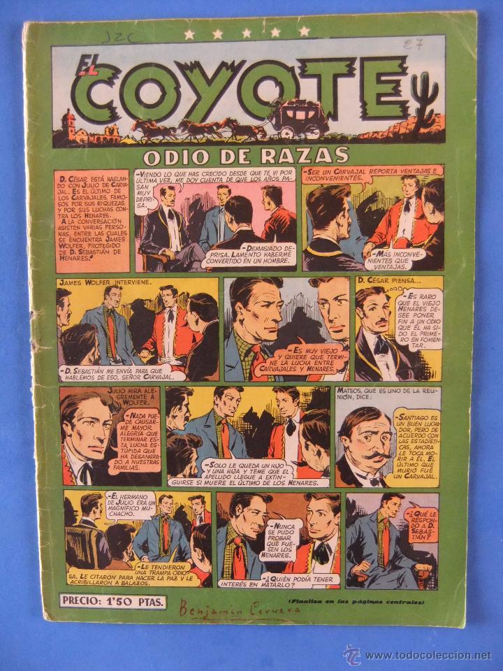 COYOTE Nº 27 EDITORIAL CLIPER (Tebeos y Comics - Cliper - El Coyote)