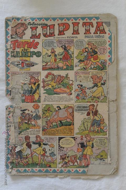 TEBEO LUPITA EDICIONES FLORITA (Tebeos y Comics - Cliper - Florita)