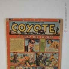 Tebeos: EL COYOTE 56 - LA FUGA DEL COYOTE - CLIPER - LEYENDAS INFANTILES - 1950. Lote 51547355