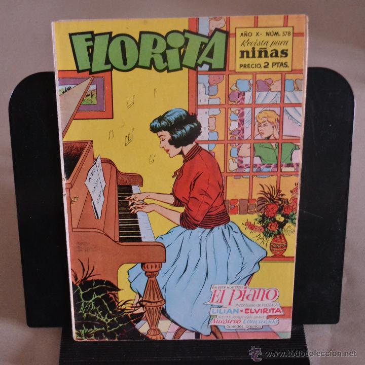 FLORITA, Nº 378. LITERACOMIC. (Tebeos y Comics - Cliper - Florita)