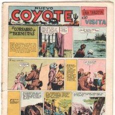 Tebeos: EL COYOTE ORIGINAL 1947, NUEVO COYOTE Nº 136 EDI. CLIPER. Lote 51635398