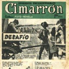 Tebeos: ARCHIVO (114): CIMARRÓN (PLAZA (CLIPER), 1952) CON JESÚS BLASCO Y FOTONOVELAS. Lote 52355190