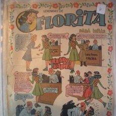 Tebeos: FLORITA REVISTA PARA NIÑAS DE EDICIONES CLIPER DE LOS AÑOS 50 -. Lote 52477412