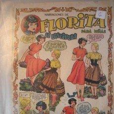 Tebeos: FLORITA REVISTA PARA NIÑAS DE EDICIONES CLIPER DE LOS AÑOS 50 -. Lote 52477537