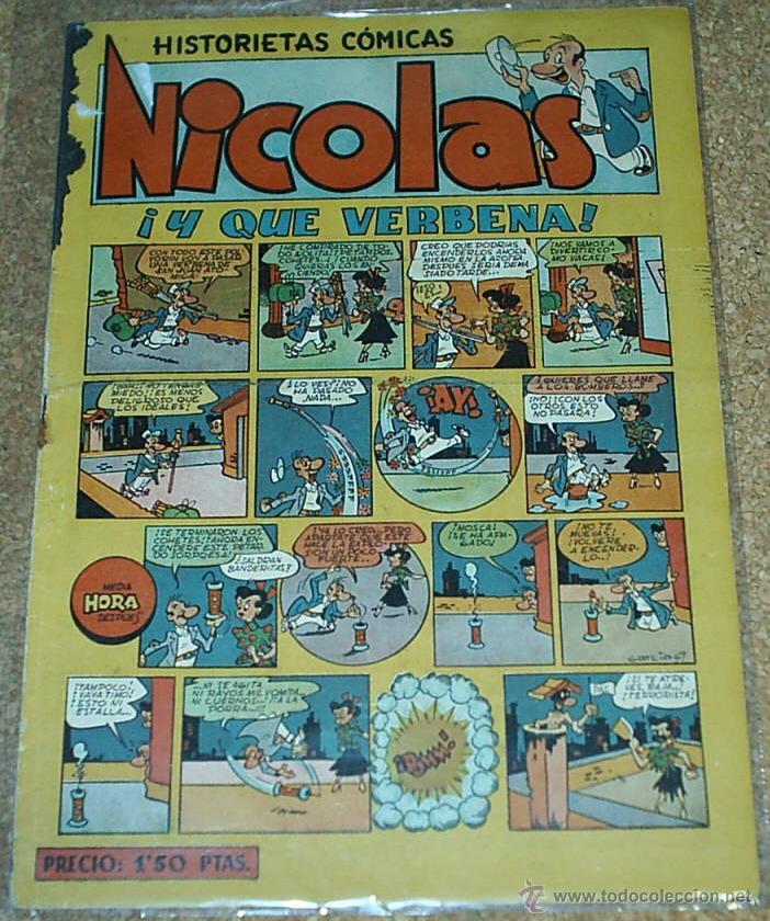 NICOLAS Nº 14 - CLIPER - ORIGINAL 1948- LEER TODO (Tebeos y Comics - Cliper - Nicolas)