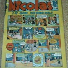 Tebeos: NICOLAS Nº 14 - CLIPER - ORIGINAL 1948- LEER TODO. Lote 52594021