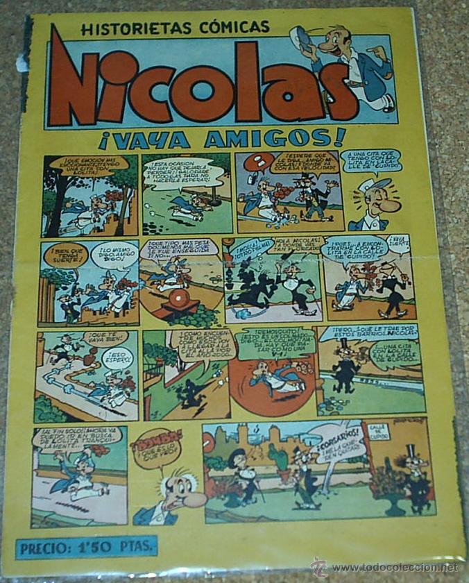 NICOLAS Nº 16 - CLIPER - ORIGINAL 1948- LEER TODO (Tebeos y Comics - Cliper - Nicolas)