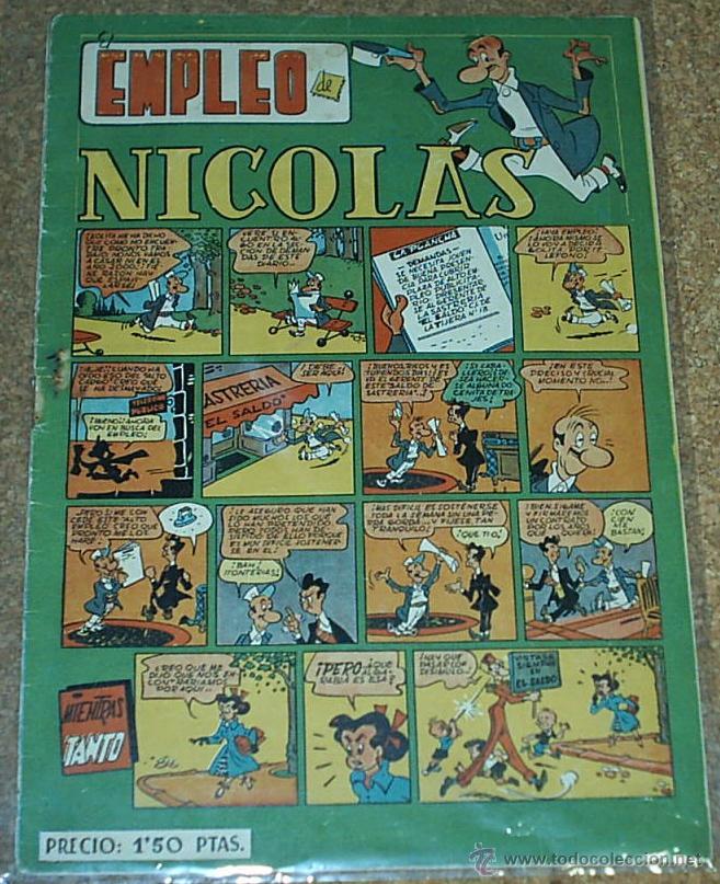 NICOLAS Nº 24 - CLIPER - ORIGINAL 1948- LEER TODO (Tebeos y Comics - Cliper - Nicolas)