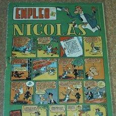 Tebeos: NICOLAS Nº 24 - CLIPER - ORIGINAL 1948- LEER TODO. Lote 52594050