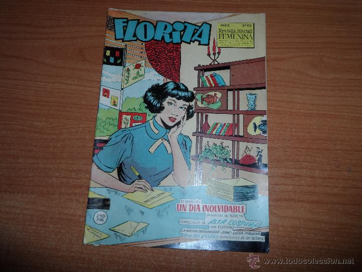 FLORITA Nº 412 EDICIONES CLIPER (Tebeos y Comics - Cliper - Florita)