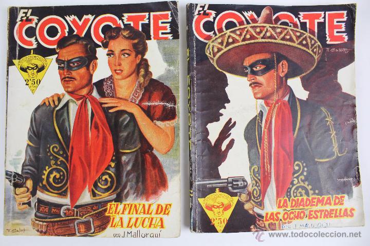 Tebeos: COM-171. EL COYOTE. LOTE DE 15 REVISTAS ,NUMEROS. 10 A 25. EDICIONES CLIPER. AÑOS CUARENTA. - Foto 8 - 52814152