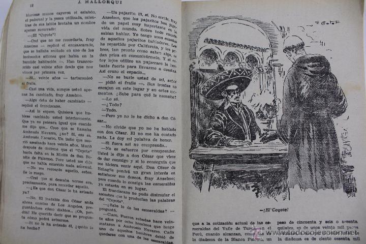 Tebeos: COM-171. EL COYOTE. LOTE DE 15 REVISTAS ,NUMEROS. 10 A 25. EDICIONES CLIPER. AÑOS CUARENTA. - Foto 10 - 52814152