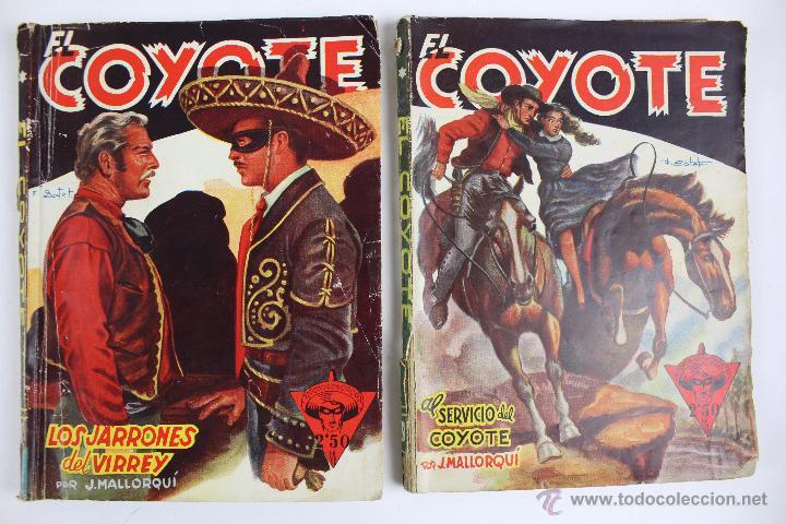 Tebeos: COM-171. EL COYOTE. LOTE DE 15 REVISTAS ,NUMEROS. 10 A 25. EDICIONES CLIPER. AÑOS CUARENTA. - Foto 13 - 52814152