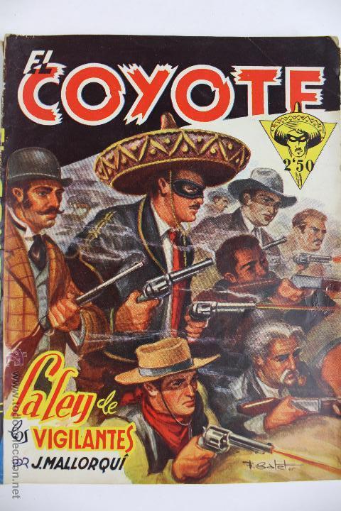 Tebeos: COM-171. EL COYOTE. LOTE DE 15 REVISTAS ,NUMEROS. 10 A 25. EDICIONES CLIPER. AÑOS CUARENTA. - Foto 14 - 52814152