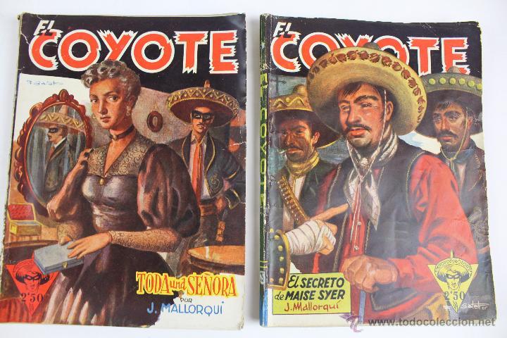 Tebeos: COM-171. EL COYOTE. LOTE DE 15 REVISTAS ,NUMEROS. 10 A 25. EDICIONES CLIPER. AÑOS CUARENTA. - Foto 17 - 52814152
