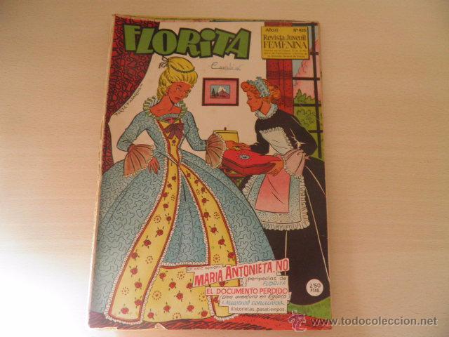 LOTE DE FLORITA (Tebeos y Comics - Cliper - Florita)