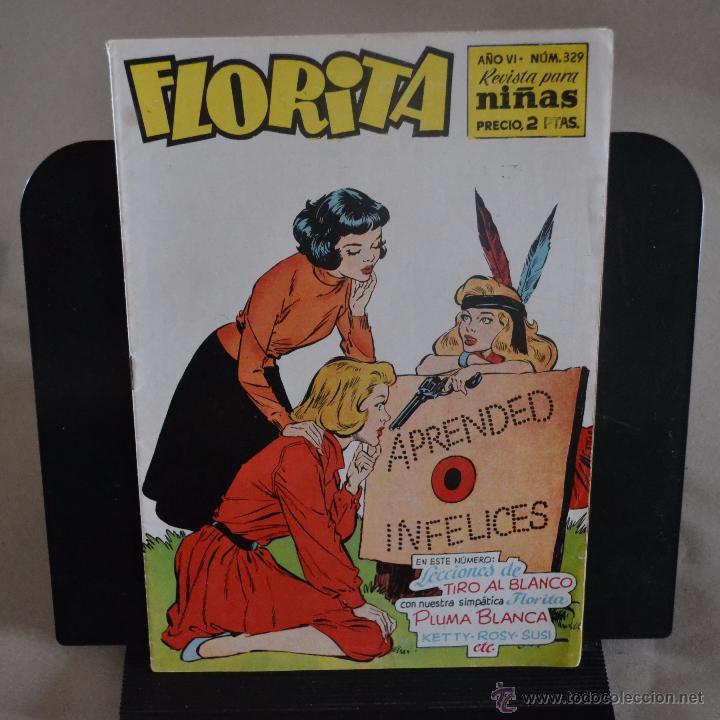 FLORITA Nº 329. LITERACOMIC. (Tebeos y Comics - Cliper - Florita)