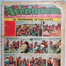 Tebeos: AVENTURERO , Nº 11 , EL TRIUNFADOR DE LOS ALPES , EDICIONES FUTURO. Lote 52978379