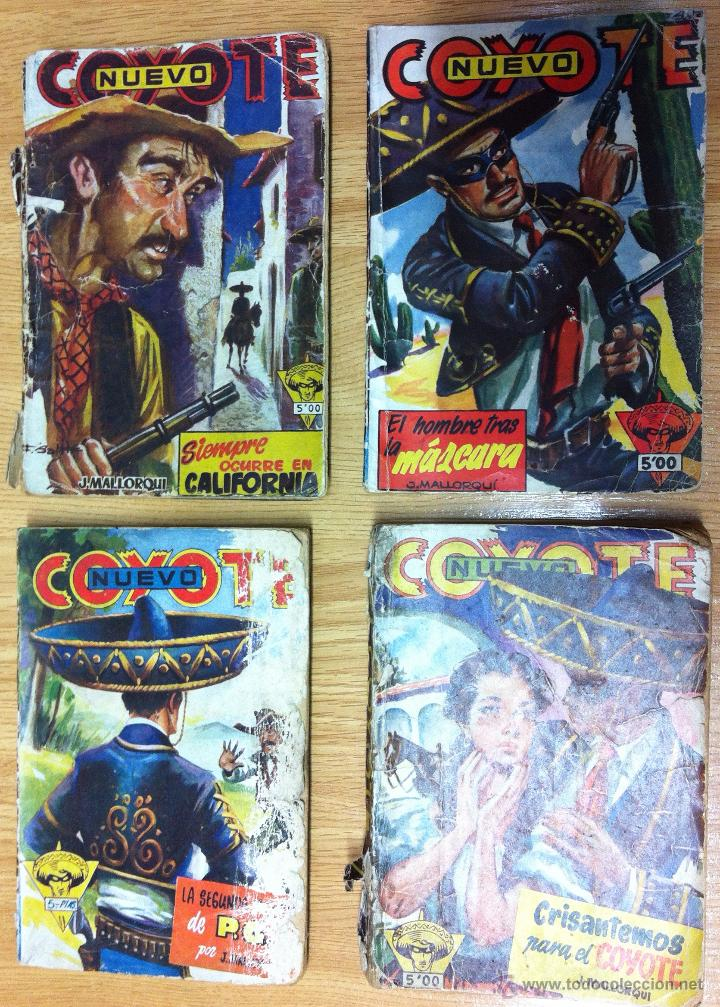 LOTE NUEVO COYOTE 4 NUMEROS-Nº 18,35,59 Y 40 (Tebeos y Comics - Cliper - El Coyote)