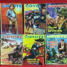 Tebeos: LOTE 10 LIBROS EL COYOTE- J. MALLORQUI - Nº166,90,183,96,79,91,100,187,84 Y 95. Lote 53233519
