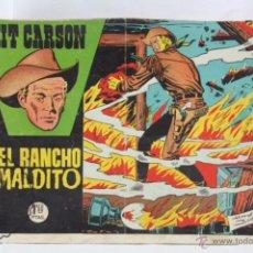 Tebeos: CÓMIC KIT CARSON - Nº 6. EL RANCHO MALDITO - ED. CLIPER, AÑO 1958 - ÚLTIMO DE LA COLECCIÓN. Lote 53879399