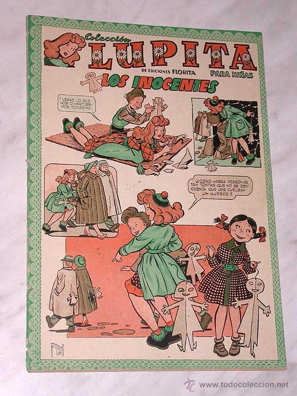 LUPITA Nº 32. EDICIONES CLIPER 1950. RIPOLL G. MESTRES, MACIÁN, GARCÍA LORENTE, SABATÉS, ANDERSON. + (Tebeos y Comics - Cliper - Otros)