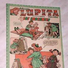 Tebeos: LUPITA Nº 32. EDICIONES CLIPER 1950. RIPOLL G. MESTRES, MACIÁN, GARCÍA LORENTE, SABATÉS, ANDERSON. +. Lote 54002708
