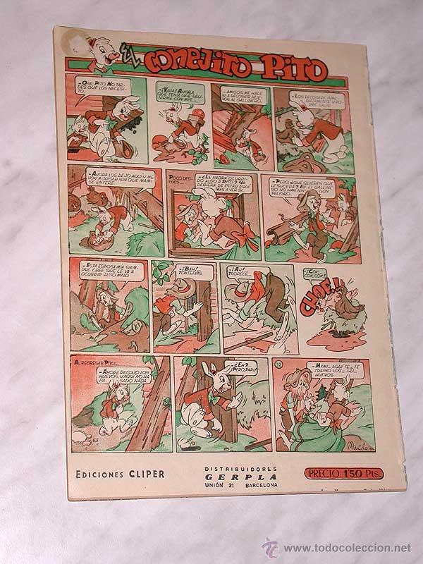 Tebeos: LUPITA Nº 32. EDICIONES CLIPER 1950. RIPOLL G. MESTRES, MACIÁN, GARCÍA LORENTE, SABATÉS, ANDERSON. + - Foto 4 - 54002708