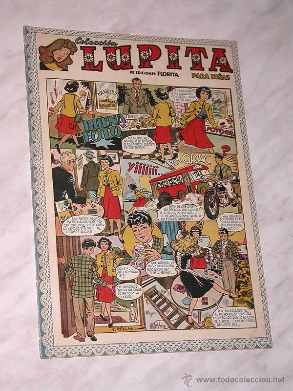 LUPITA Nº 37. EDICIONES CLIPER 1950. RIPOLL G. BADÍA, MACIÁN, BIELSA, SABATÉS, JULI, MONZÓN. +++ (Tebeos y Comics - Cliper - Otros)