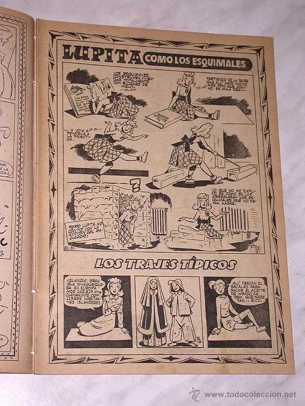 Tebeos: LUPITA Nº 37. EDICIONES CLIPER 1950. RIPOLL G. BADÍA, MACIÁN, BIELSA, SABATÉS, JULI, MONZÓN. +++ - Foto 2 - 54002726