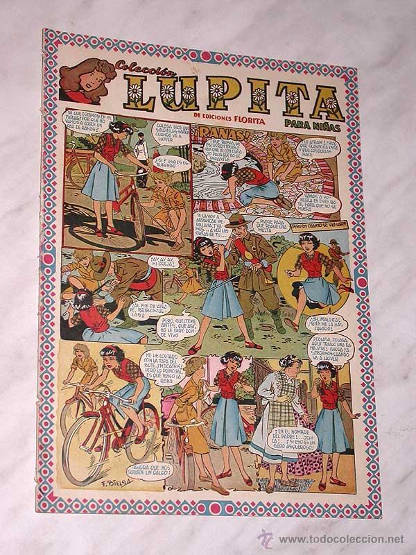 LUPITA Nº 40. EDICIONES CLIPER 1950. RIPOLL G. BADÍA, MACIÁN, BIELSA, SABATÉS, GARCÍA, MONZÓN. +++ (Tebeos y Comics - Cliper - Otros)