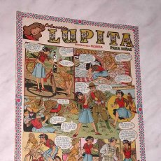 Tebeos: LUPITA Nº 40. EDICIONES CLIPER 1950. RIPOLL G. BADÍA, MACIÁN, BIELSA, SABATÉS, GARCÍA, MONZÓN. +++. Lote 54002737