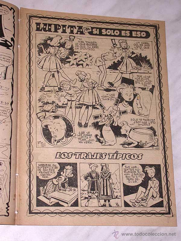 Tebeos: LUPITA Nº 40. EDICIONES CLIPER 1950. RIPOLL G. BADÍA, MACIÁN, BIELSA, SABATÉS, GARCÍA, MONZÓN. +++ - Foto 2 - 54002737