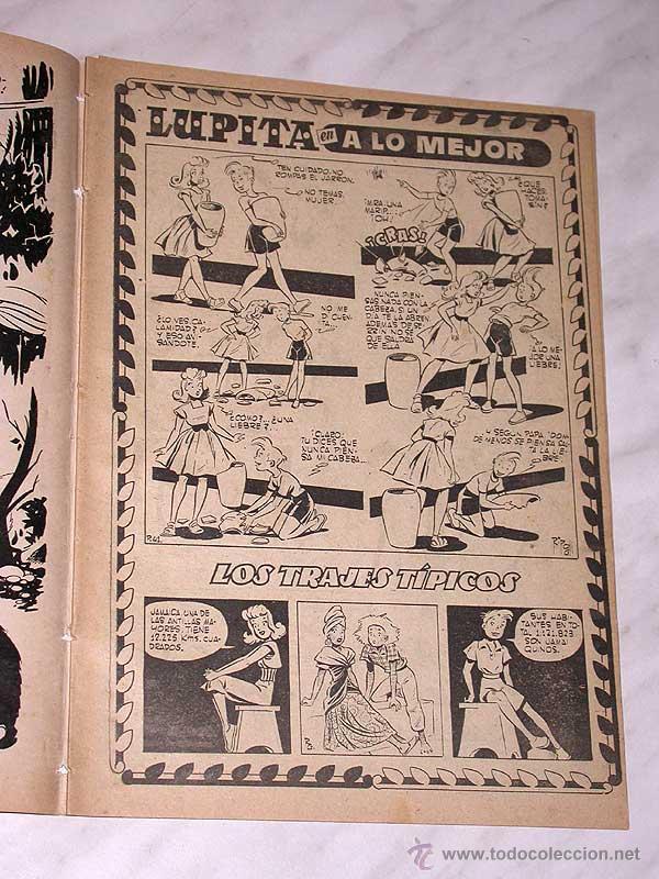 Tebeos: LUPITA Nº 41. EDICIONES CLIPER 1951. RIPOLL G. BADÍA, MACIÁN, BIELSA, JULI, GARCÍA, CELMA, JOR DOM. - Foto 2 - 54002745