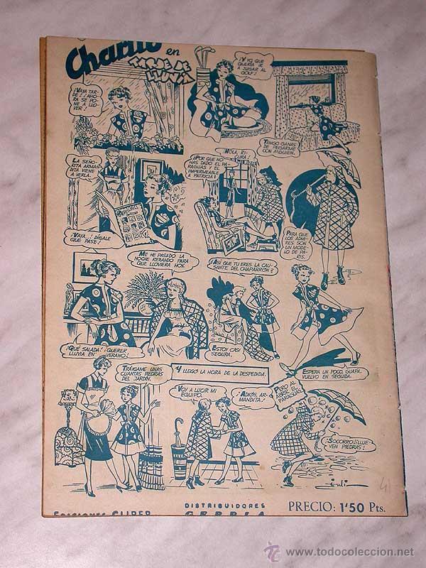 Tebeos: LUPITA Nº 41. EDICIONES CLIPER 1951. RIPOLL G. BADÍA, MACIÁN, BIELSA, JULI, GARCÍA, CELMA, JOR DOM. - Foto 4 - 54002745