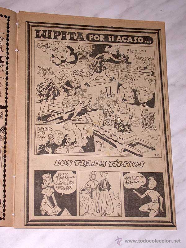 Tebeos: LUPITA Nº 47. EDICIONES CLIPER 1951. RIPOLL G. MACIÁN, ANDERSON, MONZÓN, CELMA, GALCERÁN. ++ - Foto 2 - 54002778
