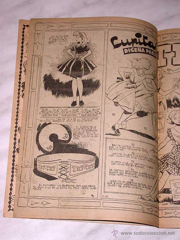 Tebeos: LUPITA Nº 47. EDICIONES CLIPER 1951. RIPOLL G. MACIÁN, ANDERSON, MONZÓN, CELMA, GALCERÁN. ++ - Foto 3 - 54002778