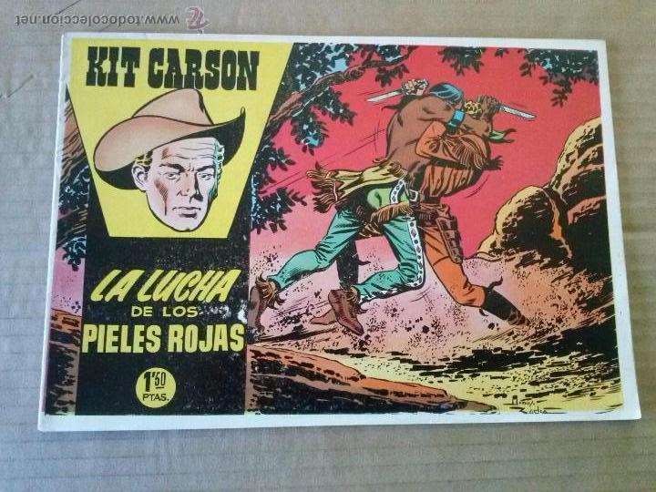 KIT CARSON Nº 4 - CLIPER - GERPLA - ORIGINAL - TA (Tebeos y Comics - Cliper - Otros)