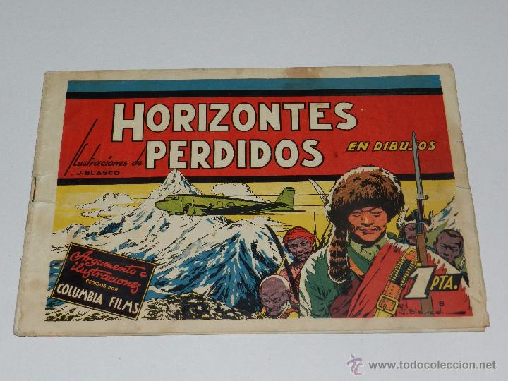 (M1) PELICULAS FAMOSAS NUM 2 - HORIZONTES PERDIDOS ILUSTRACIONES J BLASCO, EDT CLIPER (Tebeos y Comics - Cliper - Otros)