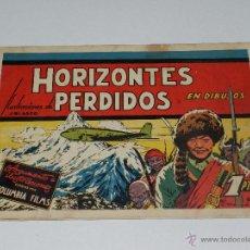 Tebeos: (M1) PELICULAS FAMOSAS NUM 2 - HORIZONTES PERDIDOS ILUSTRACIONES J BLASCO, EDT CLIPER. Lote 54637163
